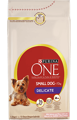 Purina One Small Dog Delicate Dry Food