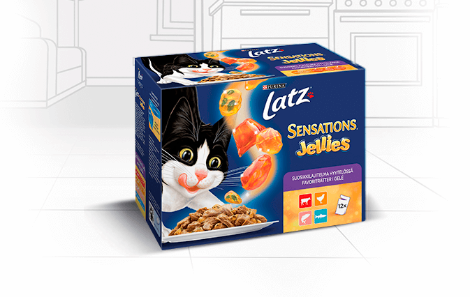 Latz Sensations Jellies 12x100g