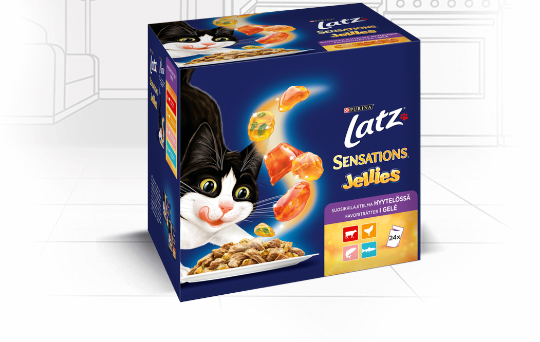 Latz Sensations Jellies 24x100g