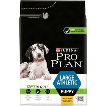 ​PURINA® PRO PLAN® Large Athletic Puppy med OPTISTART® Rik på kyckling