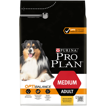​PURINA® PRO PLAN® Medium Adult med OPTIBALANCE™ Rik på kyckling