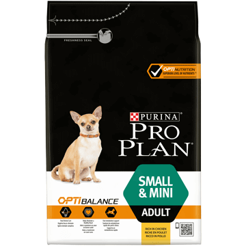 ​PURINA® PRO PLAN® Small & Mini Adult med OPTIBALANCE™ Rik på kyckling