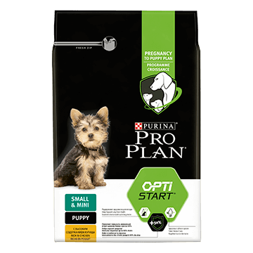 ​PURINA® PRO PLAN® Small & Mini Puppy med OPTISTART® Rik på kyckling